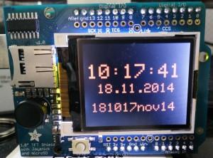 DRK-Arduino-Uhr